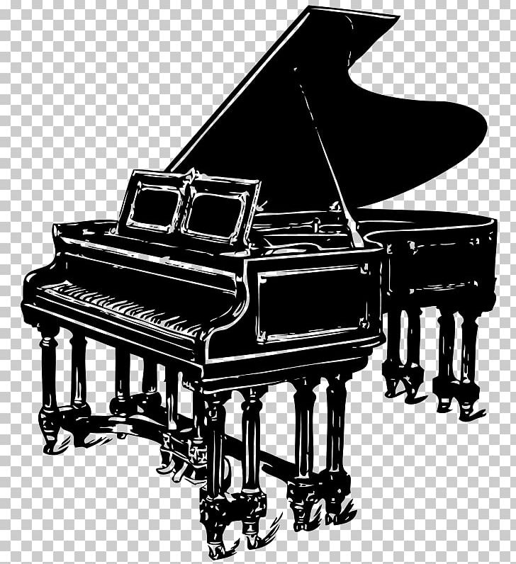 Jazz piano clipart clipart royalty free stock Jazz Piano Musical Instruments PNG, Clipart, Art, Black And Wh ... clipart royalty free stock