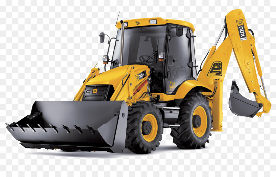 Jcb images clipart vector black and white library Yellow Background clipart - Excavator, Bulldozer, Tire, transparent ... vector black and white library