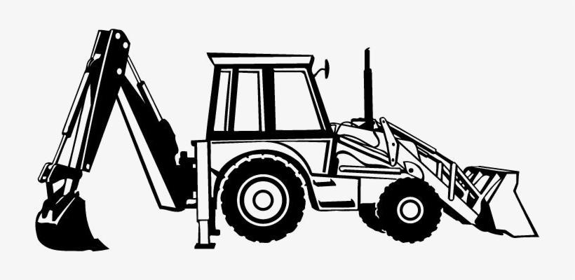 Jcb images clipart svg download A Patent Holder Company, U And T Tractor Spares Pvt - Jcb Line Art ... svg download
