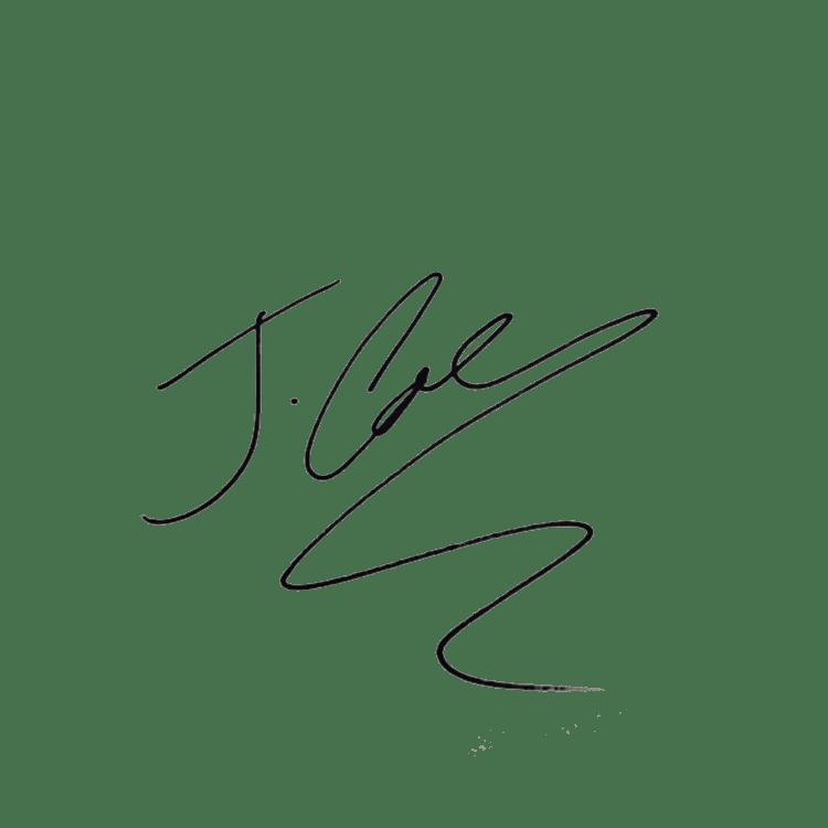 Jcole crown clipart clip art freeuse J. Cole Signature transparent PNG - StickPNG clip art freeuse