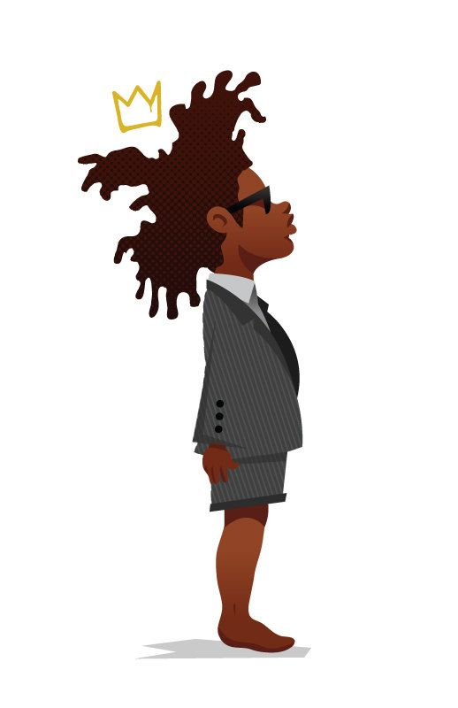 Jean michel basquiat clipart vector transparent Kid Jean Michel Basquiat by XPAYNE on Etsy, $20.00 | Retro Metro in ... vector transparent