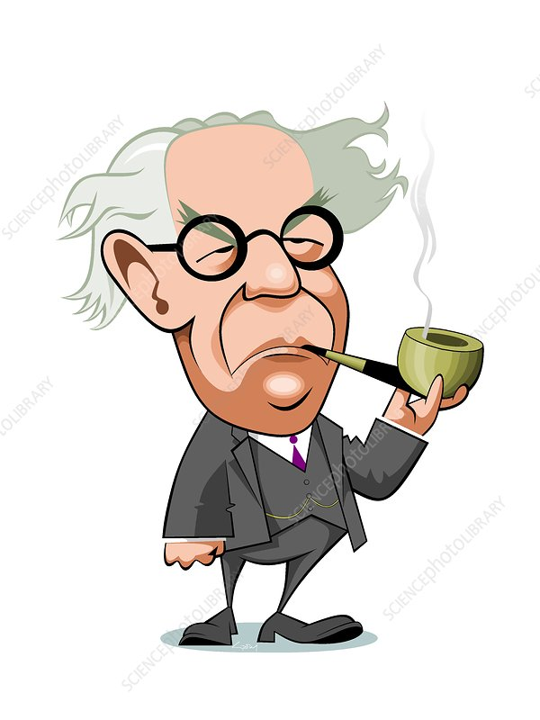 Jean piaget clipart svg freeuse library Jean Piaget, Swiss psychologist - Stock Image - C038/9556 - Science ... svg freeuse library