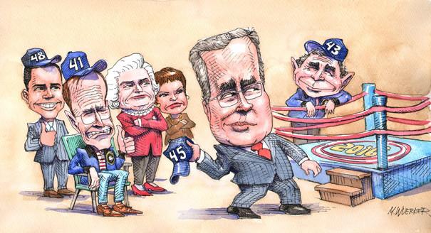 Jeb bush clipart royalty free library Jeb 2016: The Bush battle within - POLITICO royalty free library