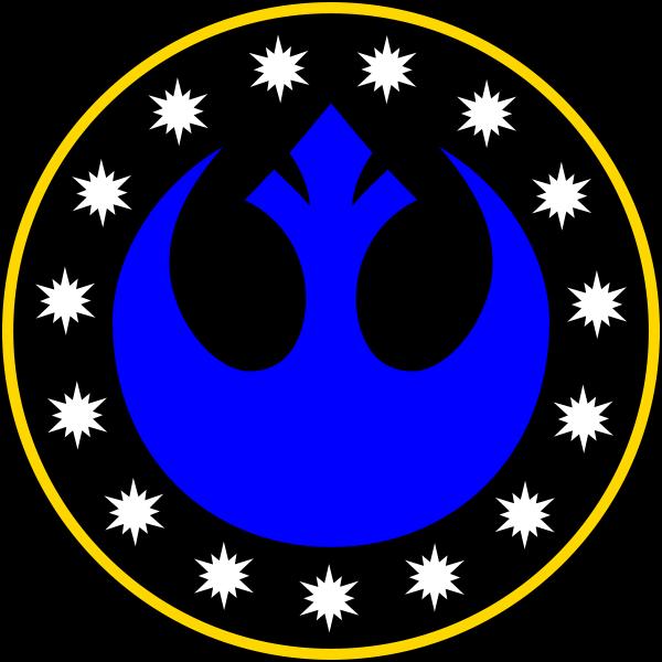 Jedi vs sith clipart vector transparent New Republic | Jedi vs Sith Wiki | FANDOM powered by Wikia vector transparent