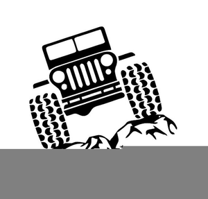 Jeeep clipart clipart black and white library Free Jeep Wrangler Clipart | Free Images at Clker.com - vector clip ... clipart black and white library