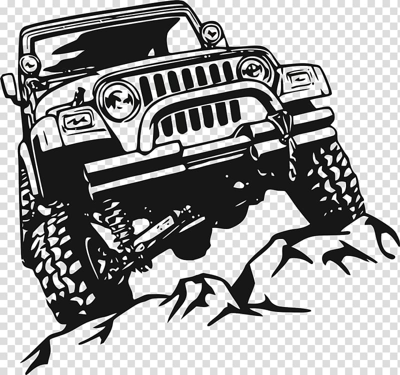 Jeep background clipart royalty free library Jeep Wrangler Car Wall decal, jeep transparent background PNG ... royalty free library