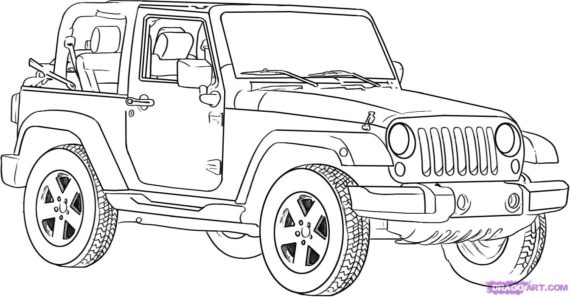 Jeep black and white clipart image transparent stock Jeep black and white clipart 5 » Clipart Station image transparent stock