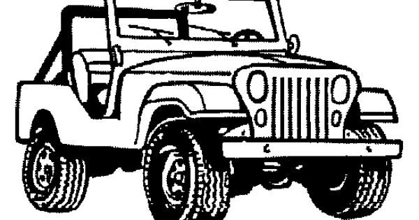 Jeep black and white clipart svg Jeep clipart black and white 1 » Clipart Portal svg
