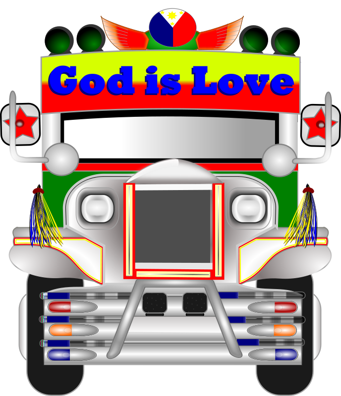 Jeepney clipart graphic royalty free library Free Clipart: Philippine Jeepney | wsnaccad graphic royalty free library