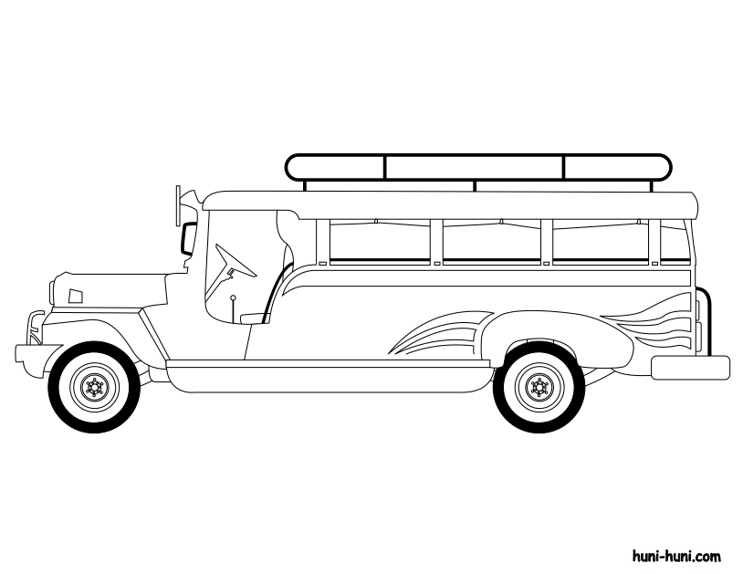 Jeepney clipart black and white clip art royalty free stock Book Black And White clipart - Jeep, Jeepney, Car ... clip art royalty free stock