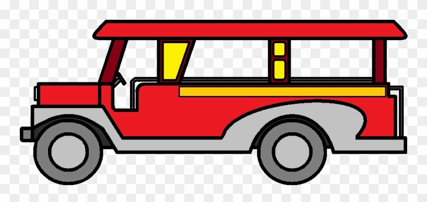 Jeepney driver clipart