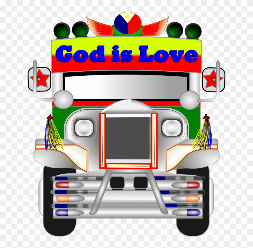 Jeepney driver clipart jpg free library Free Philippine Jeepney - Jeep Clipart - Png Download ... jpg free library
