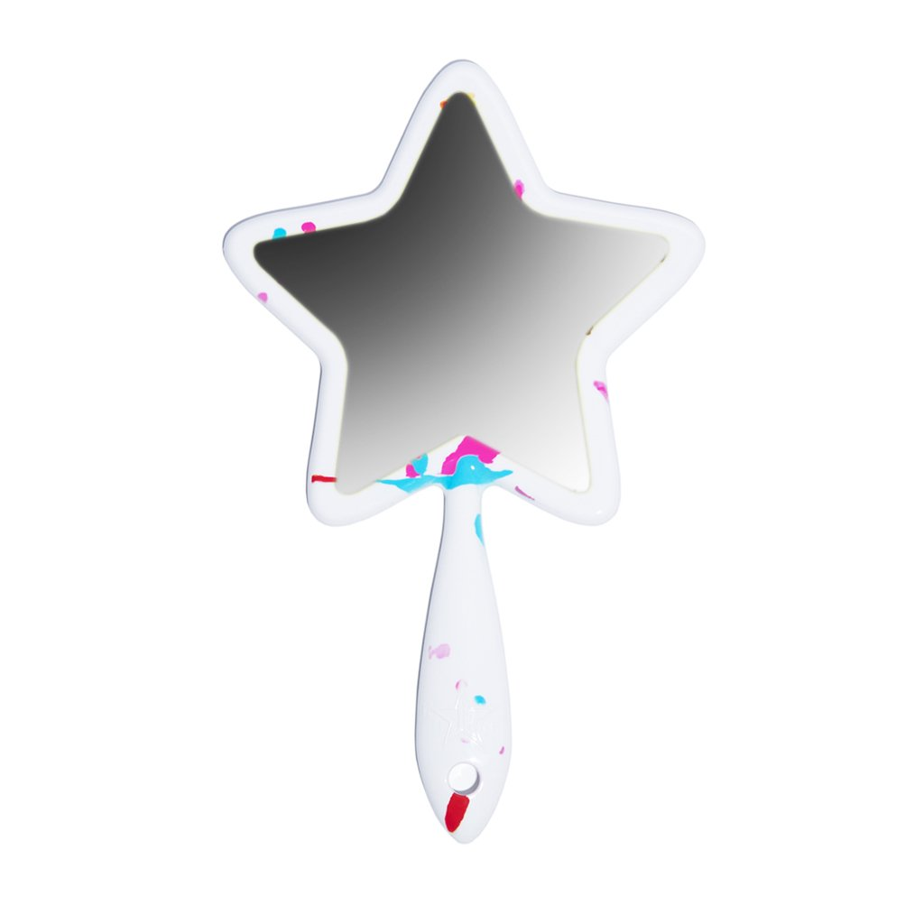 Jeffree star logo clipart svg free White Jawbreaker Hand Mirror svg free