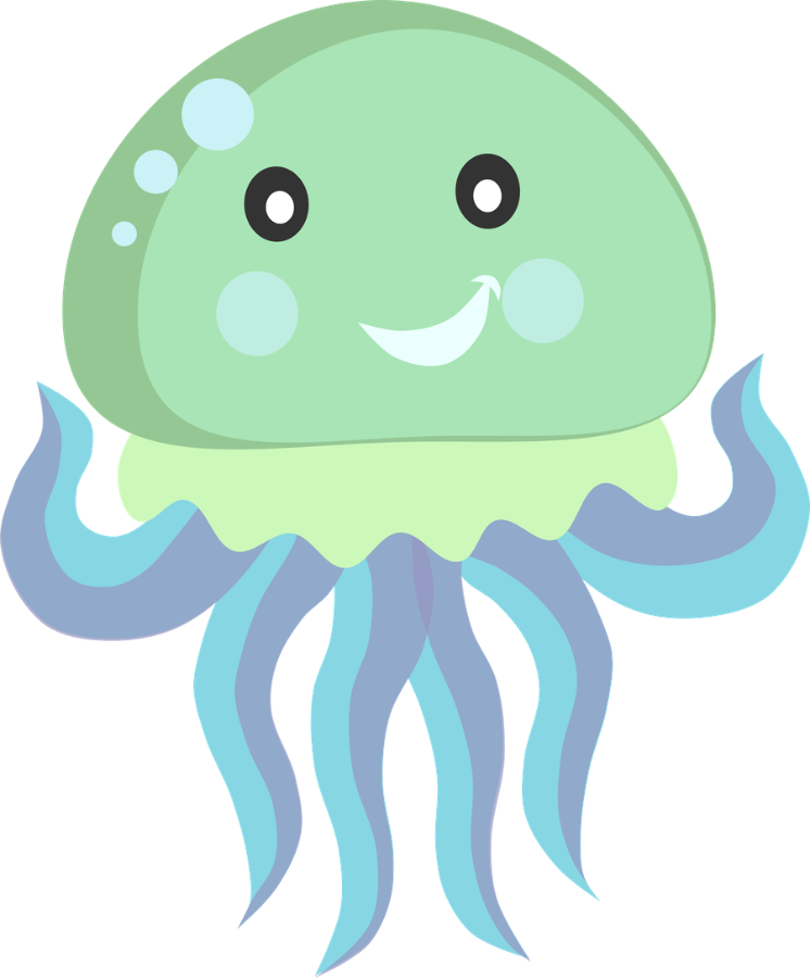 Jelly fish clipart jpg library stock ○•‿✿⁀Ocean Safari‿✿⁀•○ …   Stickers… jpg library stock