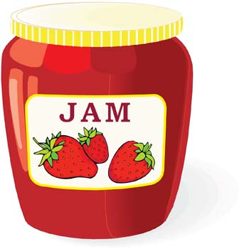 Jelly jar clipart clip freeuse Free Jam Cliparts, Download Free Clip Art, Free Clip Art on ... clip freeuse