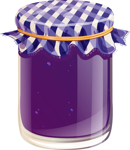Jelly jar clipart clip art black and white Jelly Jar Png Vector, Clipart, PSD - peoplepng.com clip art black and white