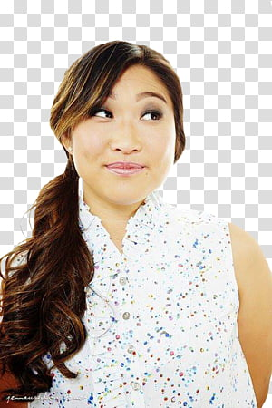 Jenna ushkowitz clipart png library download Woman wearing green hoodie, Green Hoodie Jenna Marbles ... png library download