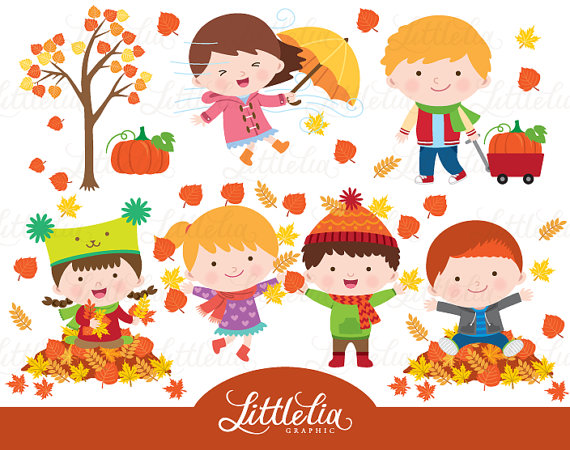 Jesien clipart banner freeuse stock Autumn kid clipart - Autumn clipart - 16045 | cliparts | Jesień banner freeuse stock