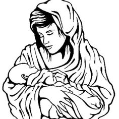 Jesus and mary clipart svg freeuse Mary Pregnant with Jesus   Virgin Mary Clipart   Mary Logo ... svg freeuse