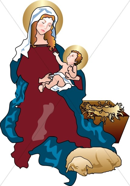 Jesus and mary clipart image free Virgin Mary Clipart, Virgin Mary Graphics, Virgin Mary Images ... image free