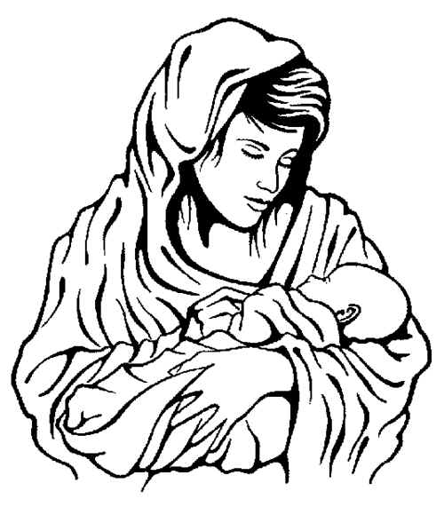 Jesus and mary clipart image royalty free download Cartoon Baby Jesus   Free Download Clip Art   Free Clip Art   on ... image royalty free download