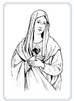 Jesus and mother mary clipart picture freeuse stock Jesus and mother mary clipart - ClipartFest picture freeuse stock