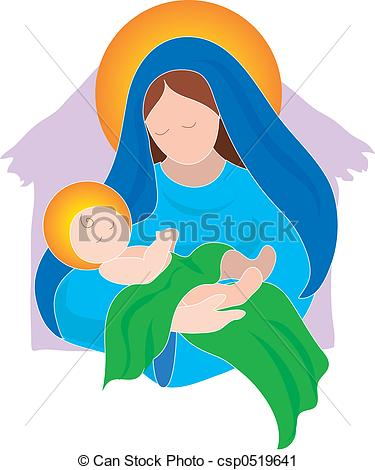 Jesus and mother mary clipart image transparent library Mary Mother Of Jesus Clipart – Clipart Free Download image transparent library