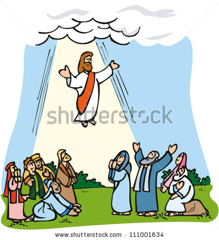 Jesus ascending clipart vector black and white download Jesus ascending toheaven clipart - ClipartFest vector black and white download