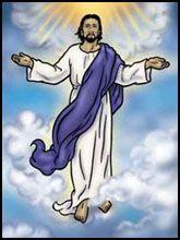 Jesus ascending clipart clipart library Ascending To Heaven Clipart - Clipart Kid clipart library