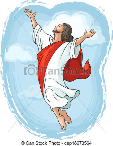 Jesus ascending clipart clipart royalty free library Ascension Stock Illustrations. 738 Ascension clip art images and ... clipart royalty free library