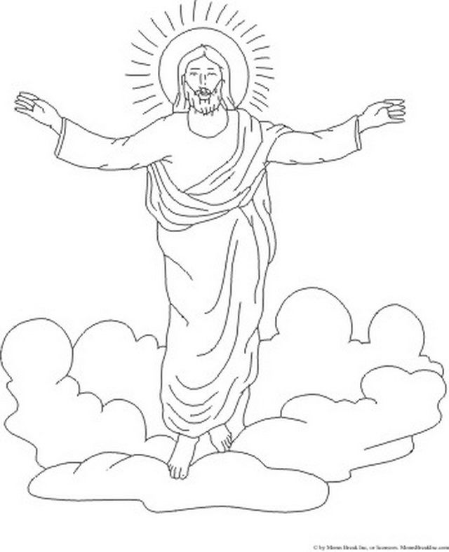 Jesus ascending to heaven clipart clip art royalty free 17 Best ideas about Ascension Of Jesus on Pinterest | Bible crafts ... clip art royalty free
