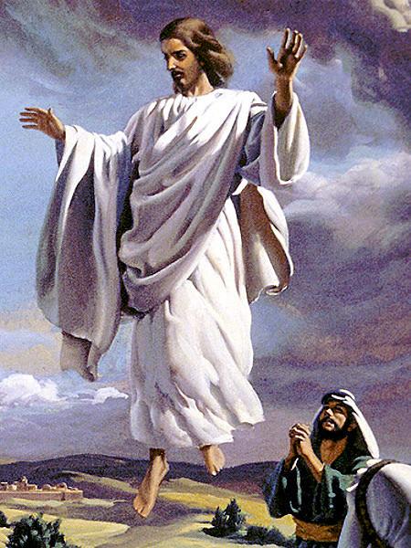 Jesus ascending to heaven clipart image free Clip Art Of Jesus Ascending Into Heaven Clipart - Clipart Kid image free