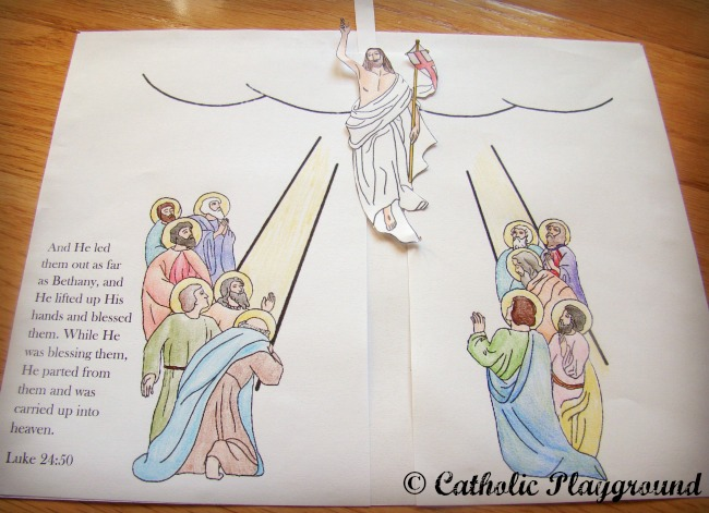 Jesus ascending to heaven clipart clipart royalty free download 17 Best images about Bible Story - The Ascension on Pinterest ... clipart royalty free download