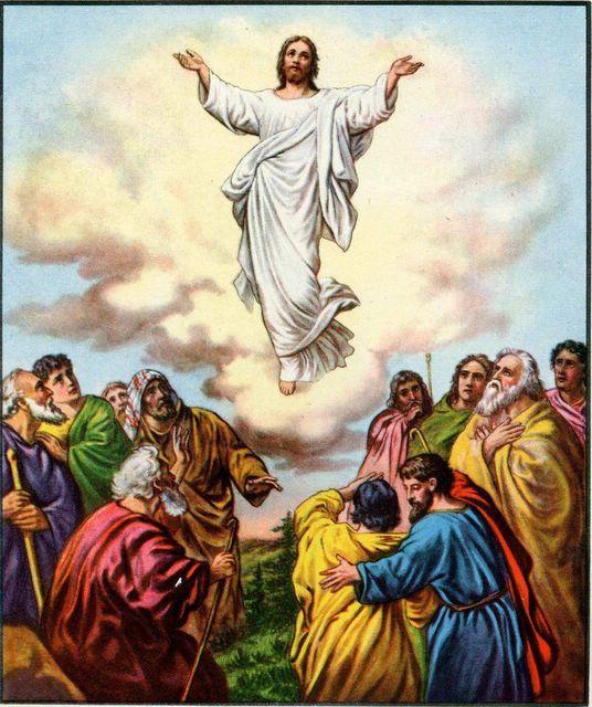 Jesus ascending to heaven clipart picture black and white Clip Art Of Jesus Ascending Into Heaven Clipart - Clipart Kid picture black and white