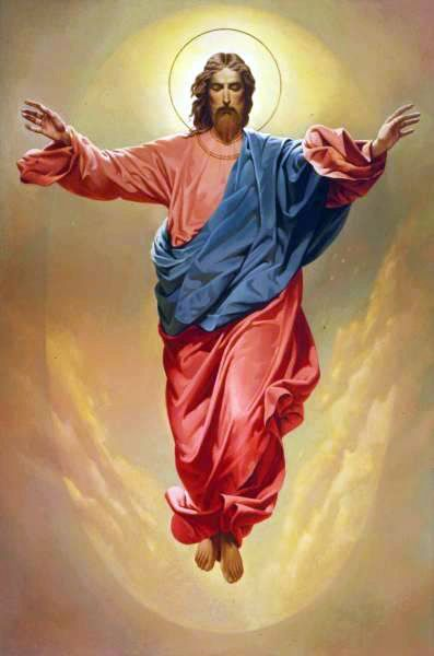Jesus ascending to heaven clipart royalty free Jesus ascending to heaven clipart - ClipartFest royalty free