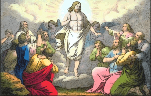 Jesus ascending to heaven clipart graphic black and white library Ascension Of Jesus Christ Into Heaven Clip Art Download graphic black and white library