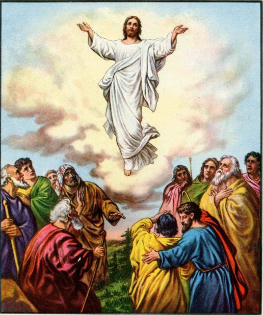 Jesus ascending toheaven clipart banner black and white download Clip Art Of Jesus Ascending Into Heaven Clipart - Clipart Kid banner black and white download