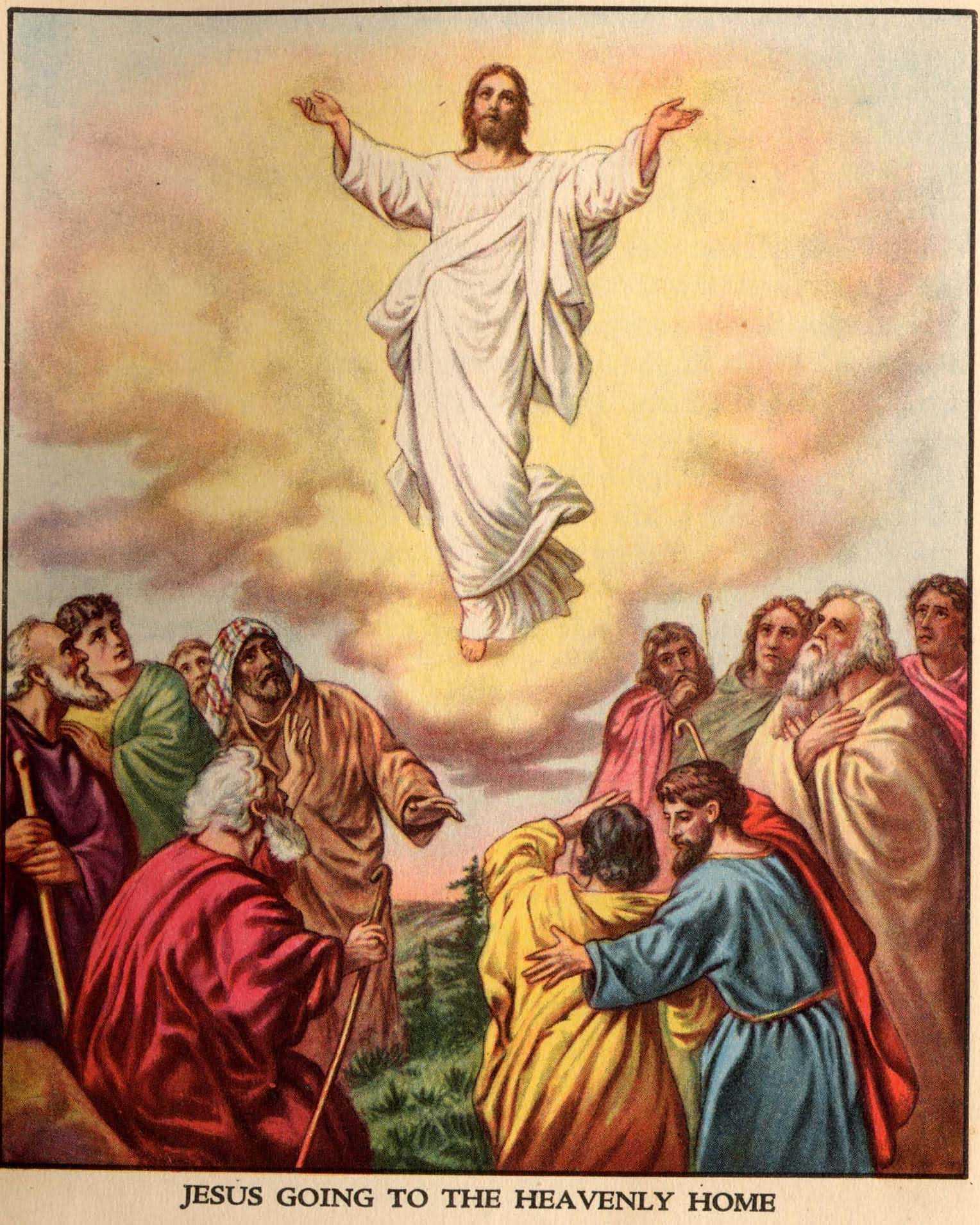 Jesus ascending toheaven clipart clip free library Ascending To Heaven Clipart - Clipart Kid clip free library