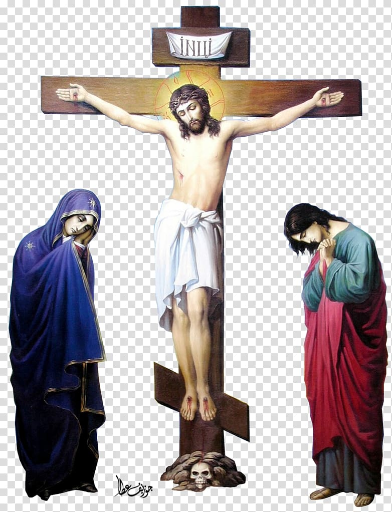 Jesus christ and women clipart