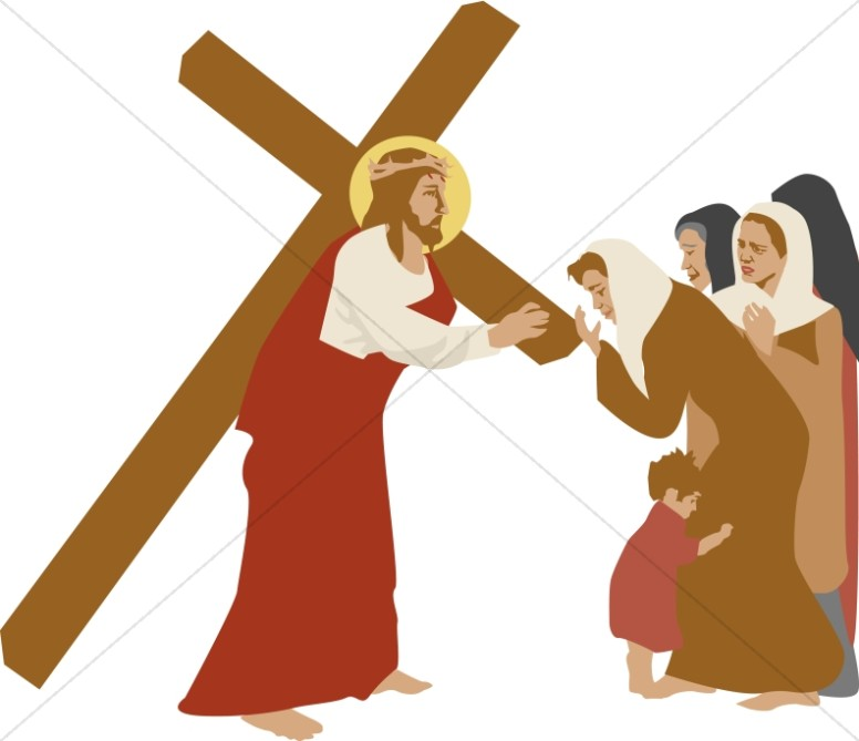 Procession clipart clipart royalty free Jesus Christ Carrying The Cross Image | 12 #118078 - Clipartimage.com clipart royalty free