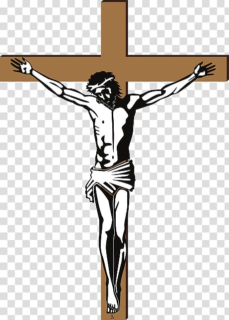 Jesus crucifixion clipart png freeuse Jesus Christ illustration, Christian cross Crucifixion of Jesus ... png freeuse