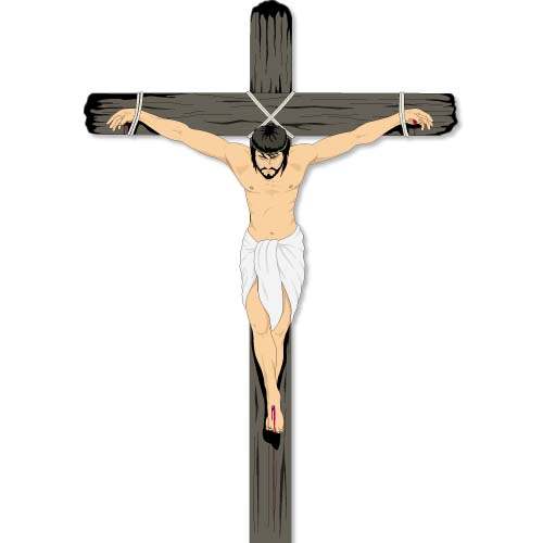 Jesus crucifixion clipart svg black and white 5+ Crucifixion Clipart | ClipartLook svg black and white