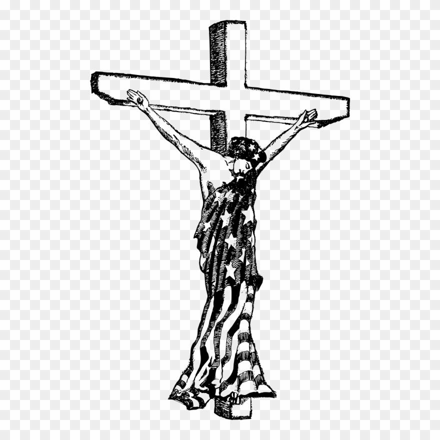 Jesus crucifixion clipart clip black and white download Roman Catholic Cross Symbol - American Jesus Crucifixion Statue ... clip black and white download