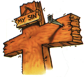 Jesus died on the cross for our sins clipart clip art transparent stock The Gospel   Derry City Church clip art transparent stock