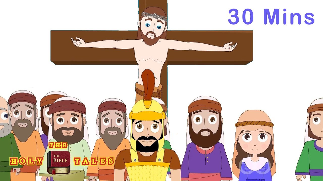 Jesus died on the cross for our sins clipart free library Jesus Died For Our Sins   Good Friday   New Testament I Bible For Kids    Holy Tales Bible Stories free library