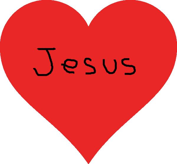 Jesus heart clipart vector Heart Clip Art at Clker.com - vector clip art online, royalty free ... vector