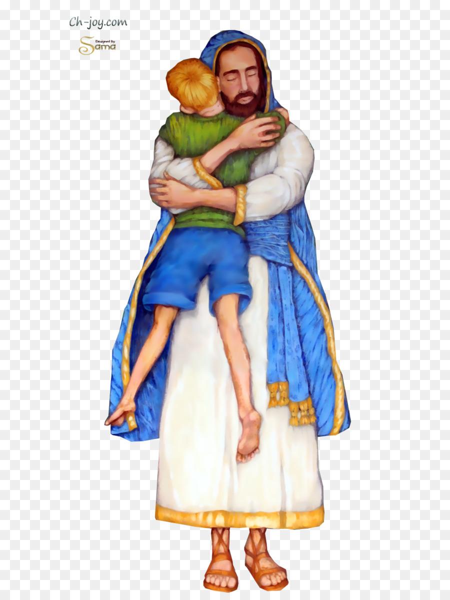Jesus hug clipart black and white lds jpg royalty free stock Hug Cartoon png download - 669*1195 - Free Transparent Jesus png ... jpg royalty free stock