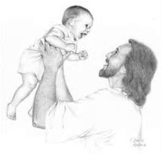 Jesus hug clipart black and white lds free 14 Best Jesus with child or children in black n white images in 2013 ... free