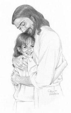 Jesus hug clipart black and white lds clip transparent stock 114 Best God/Jesus Hugs images in 2019 | God, Christ, Jesus christ clip transparent stock