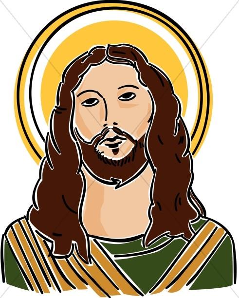 Jesus in a profile sitting position clipart png transparent stock Jesus in Prayer   Jesus Clipart png transparent stock